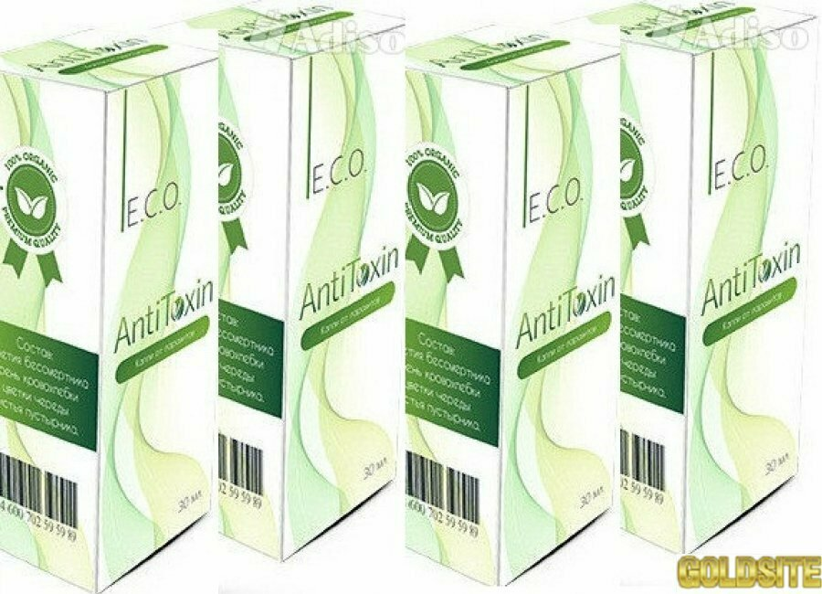 Капли от паразитов Eco AntiToxin в Жуковке