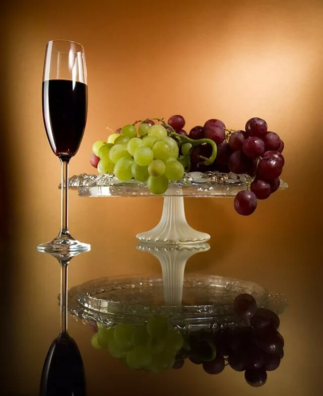 Картинка с днем рождения бокал вина