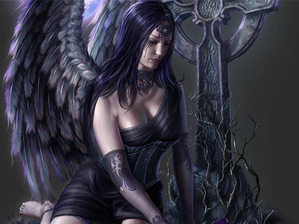 Картинки черный ангел красивые, марта своими руками