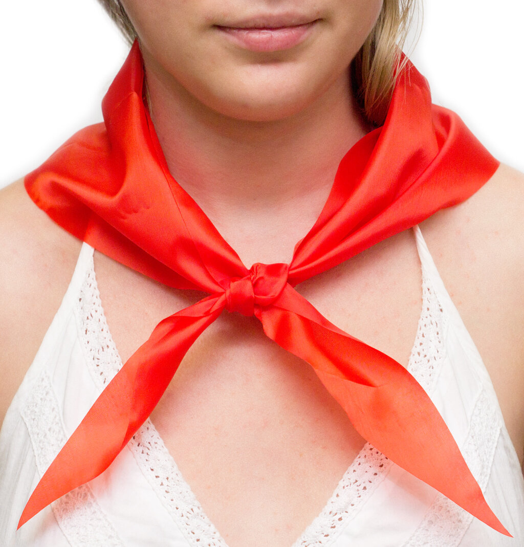 Красный галстук картинка пионерский