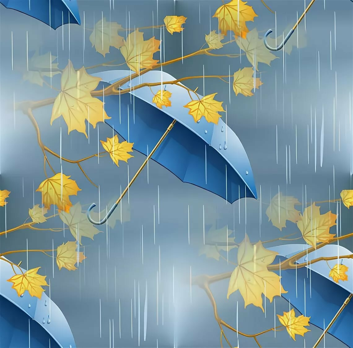 Картинки анимация дождик