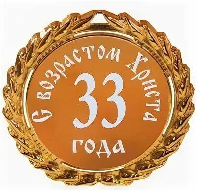 Открытки днем рождения 33 года, веки