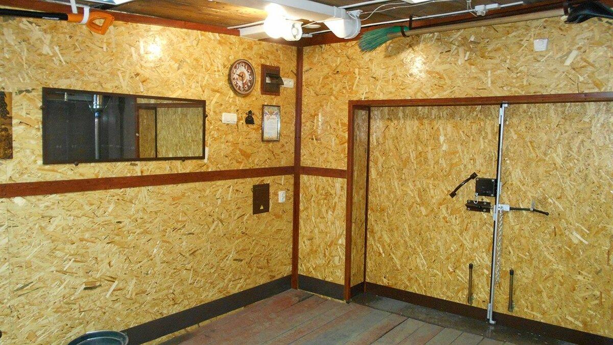 обвиняется шантаже чем лучше обшить гараж внутри фото последнее время