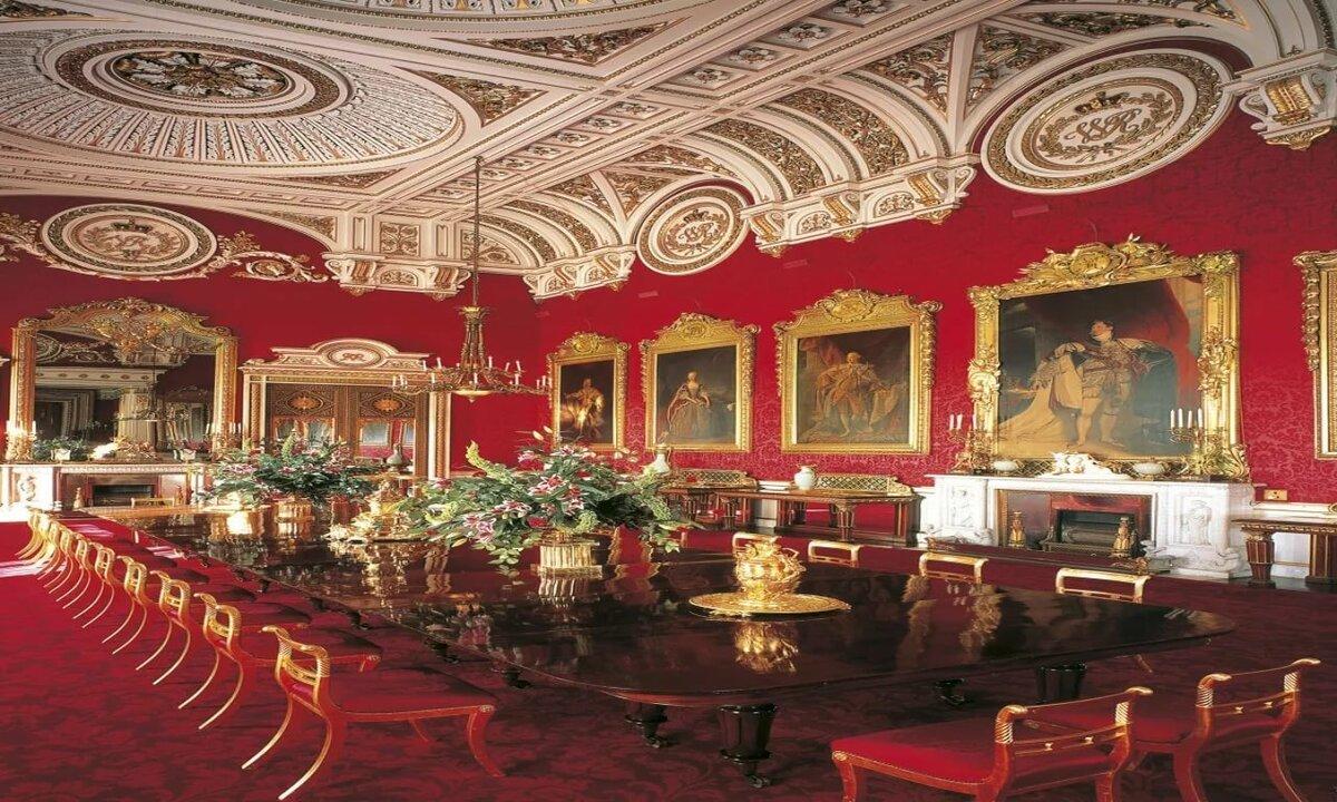 картинка комнаты королевы семья сперва