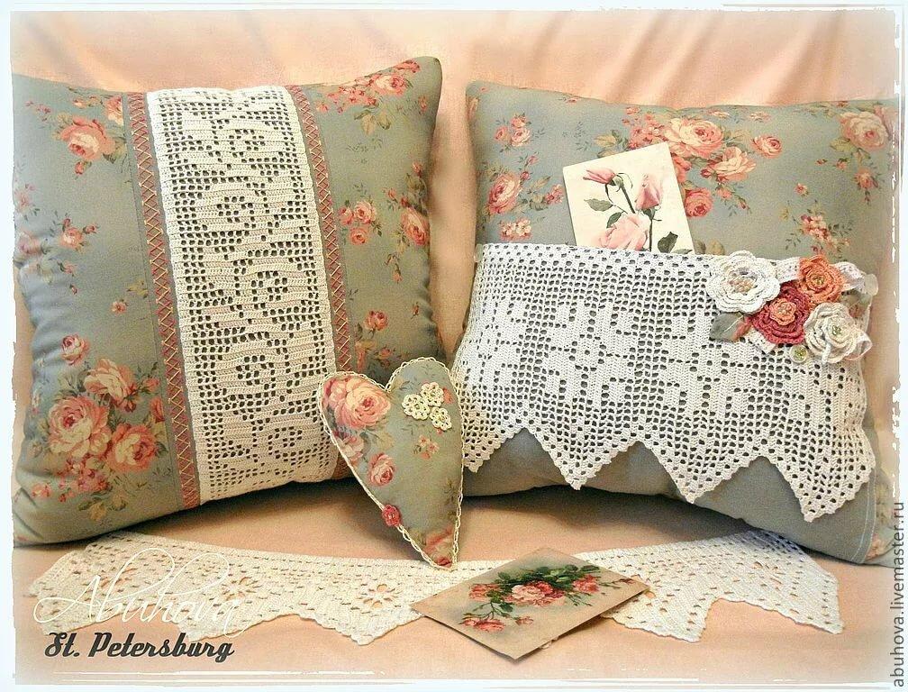 подборке рукоделие декоративные наволочки на подушки фото себе