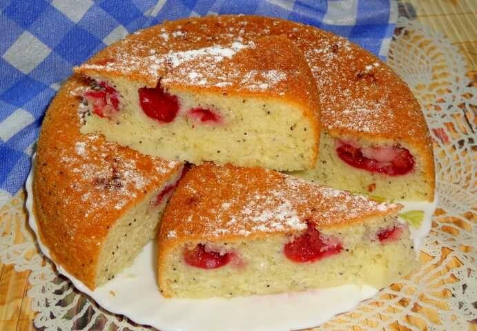сладкий пирог в мультиварке рецепты с фото бревна бруса территории