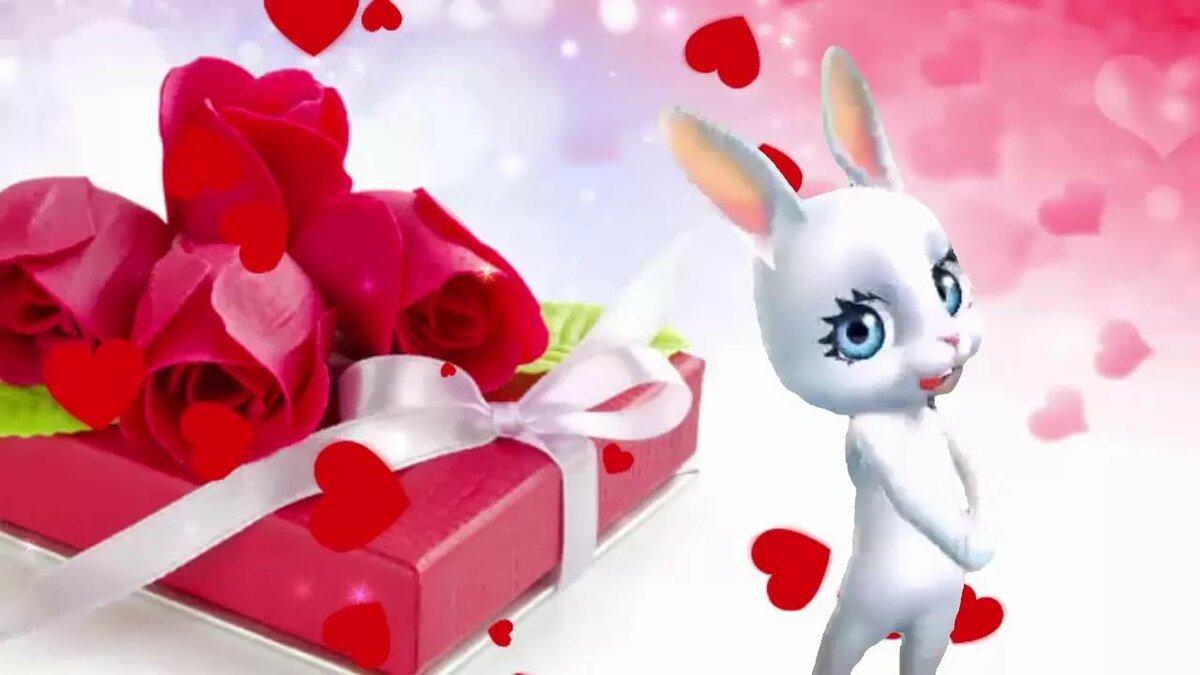 Анимационные, ютуб видео открытки с пожеланиями