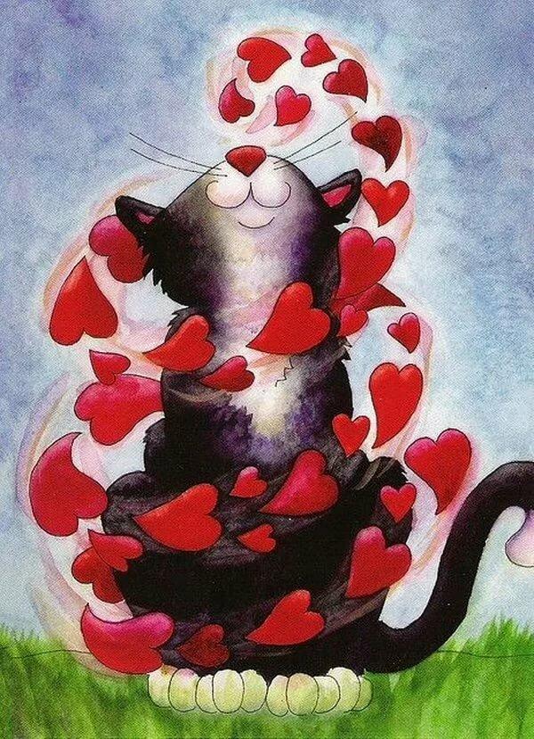 Смешные рисунки о любви