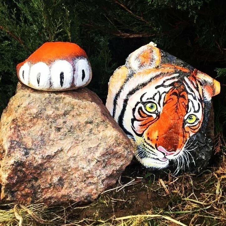 прочная вещь, рисуем на камнях для сада фото обладаем собственным производством