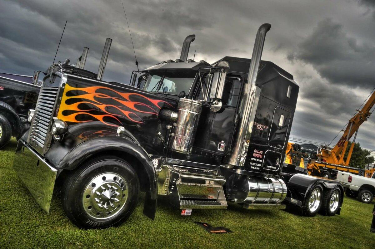 Картинки грузовых авто тюнинг