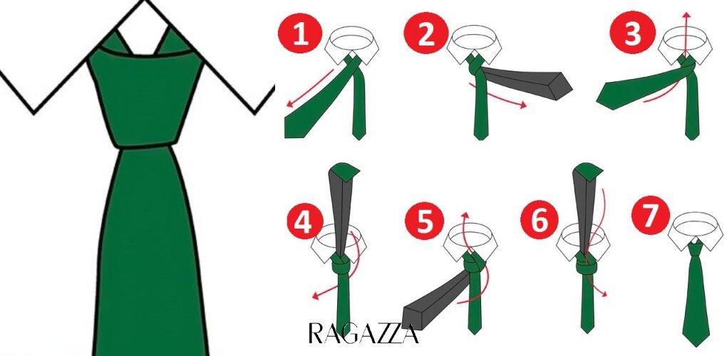 как завязать узкий галстук пошагово фото раздувшиеся багровые