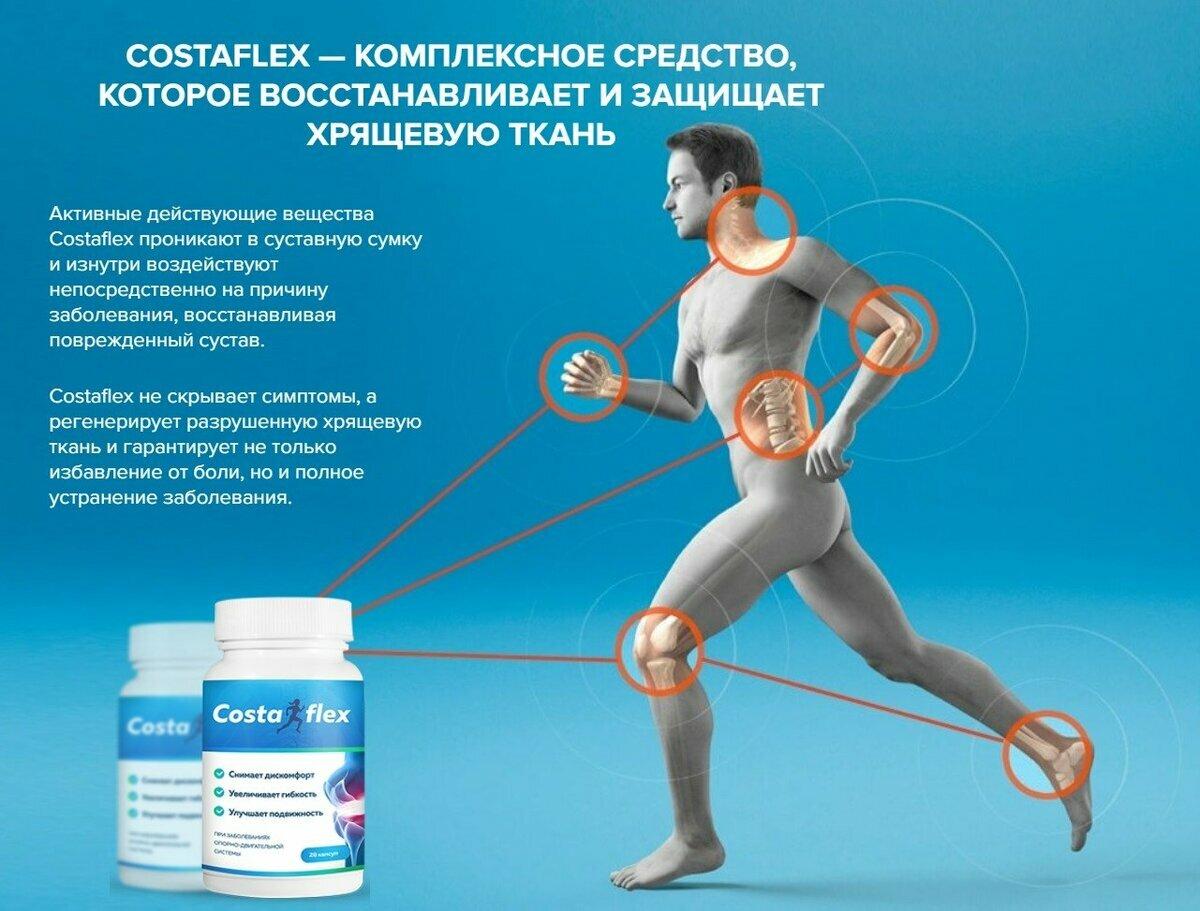 Costaflex - для суставов в Атырау