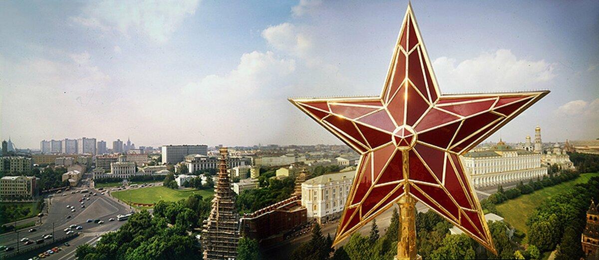 23 августа 1935 года опубликовано решение СНК СССР и ЦК ВКП(б) о замене двуглавых орлов на башнях Кремля пятиконечными звездами
