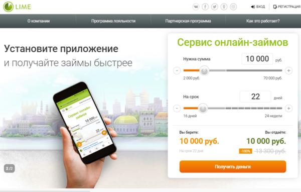 кредит наличными 50000 грн
