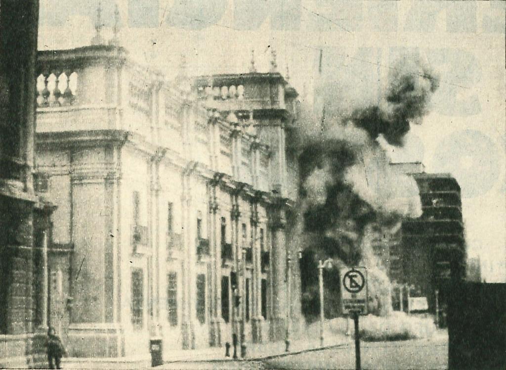 11 сентября 1973 года врезультате военного переворота в Чили к власти пришла военная хунта во главе с генералом Пиночетом