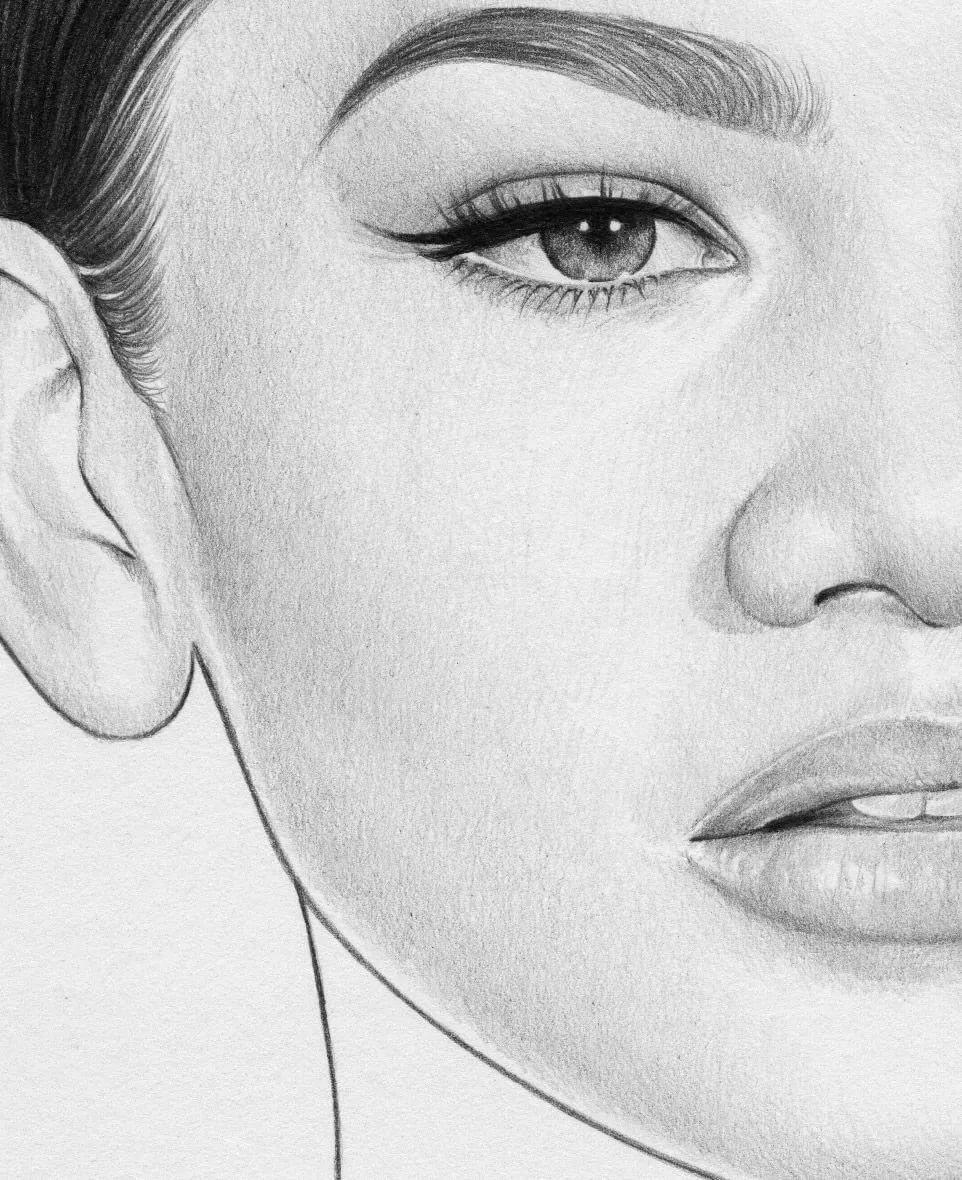 Картинки для срисовки портретов