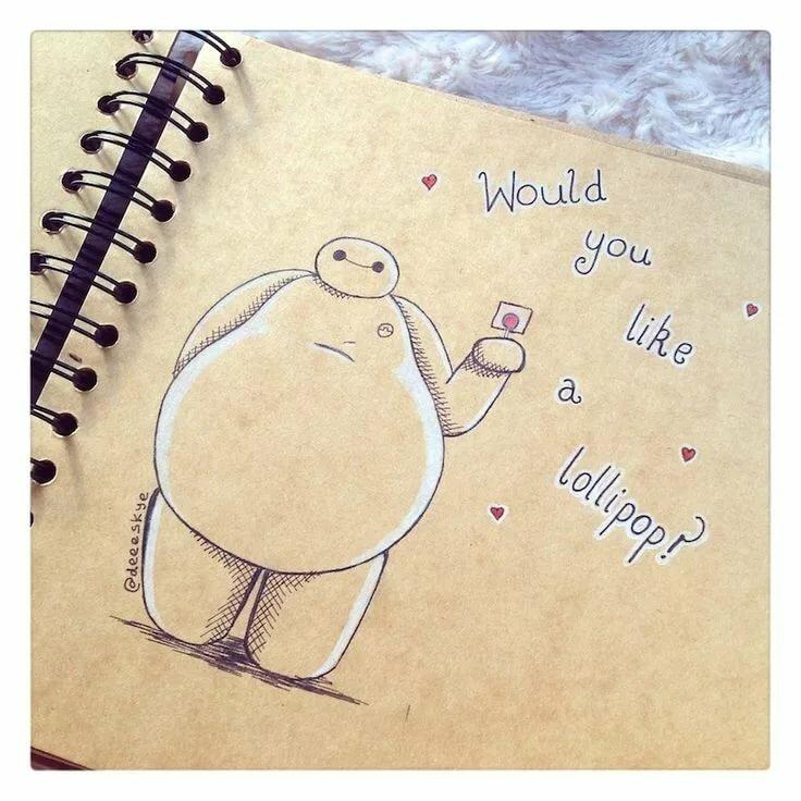 Мне, прикольные рисунки карандашом в личном дневнике