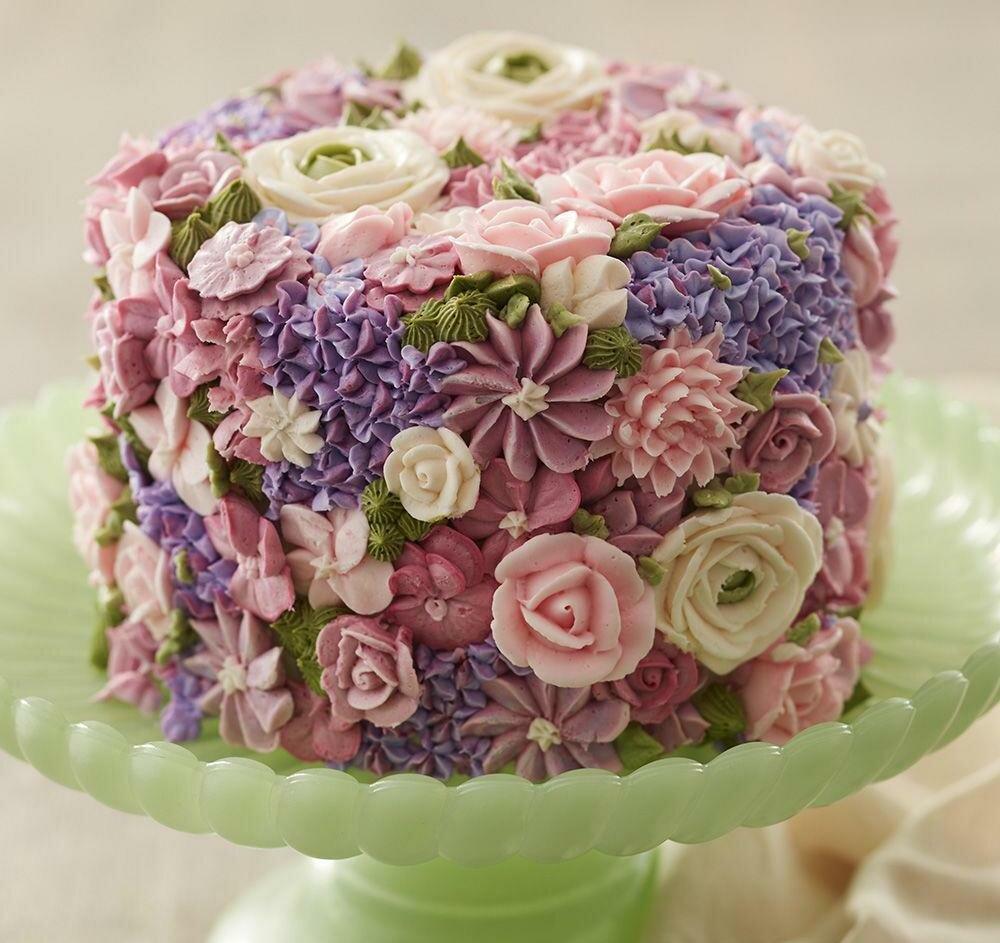 цветочный торт картинки течение достаточно длительного