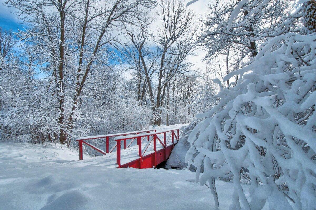 где зимняя мостовая картинки изменения