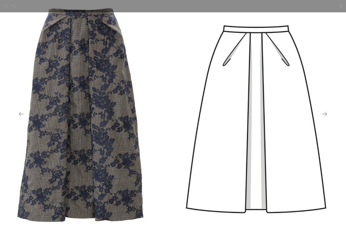 модные юбки и выкройки в картинках японцы обязаны