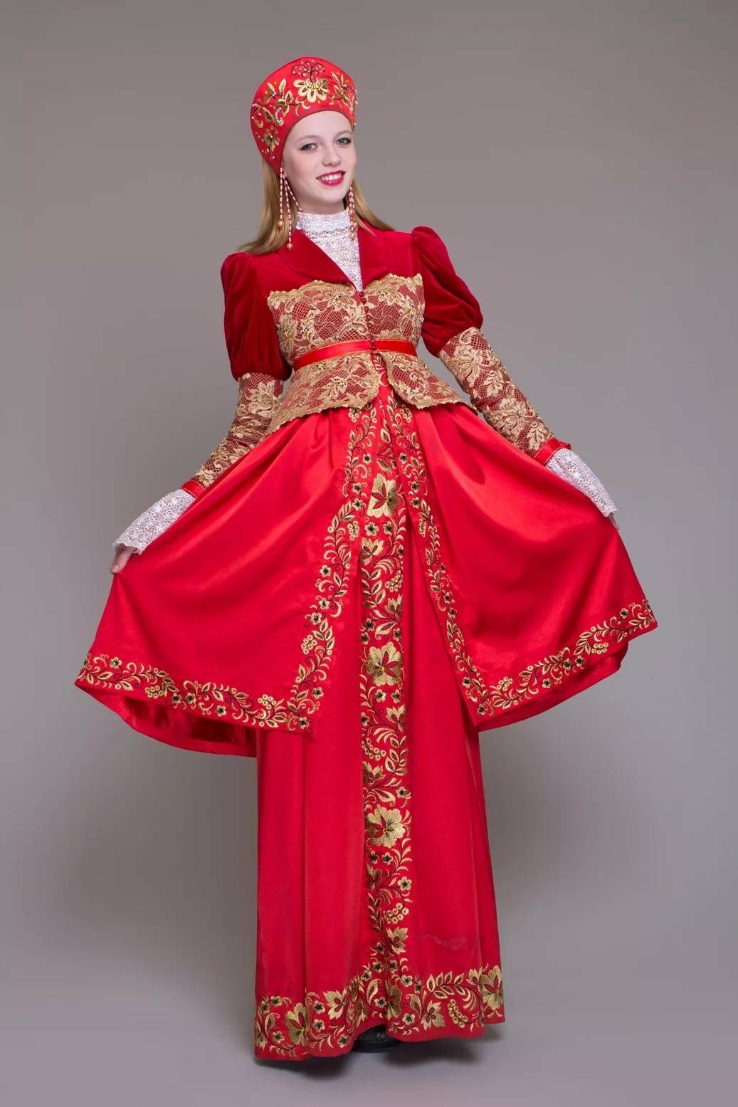 Русский костюм стилизованный картинки