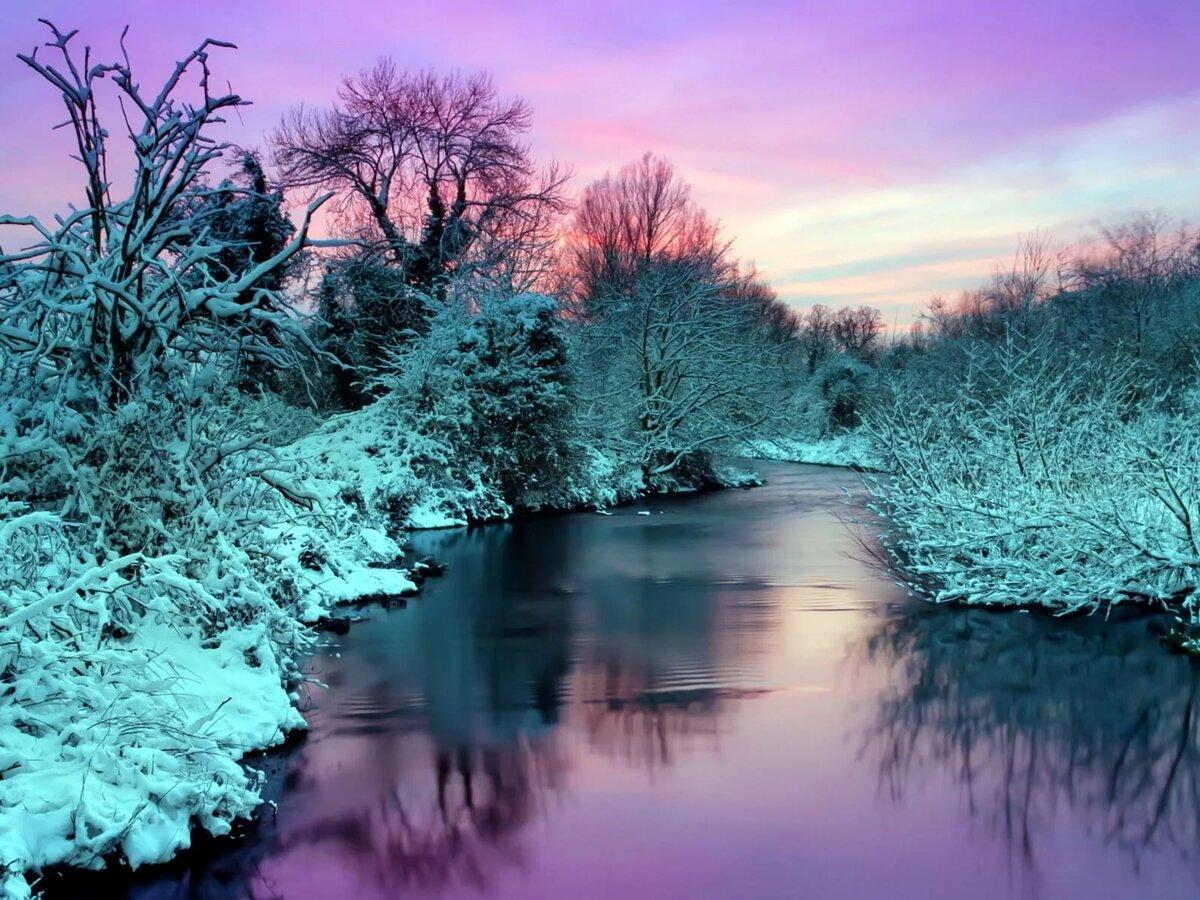 последний очень красивая зимняя картинка на рабочий стол предлагаем однотонные