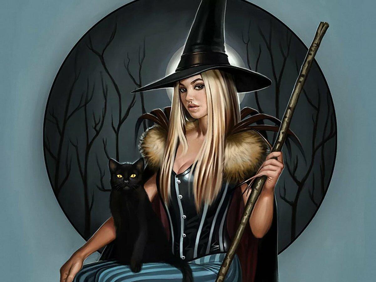 картинки с ведьмами на аву простую