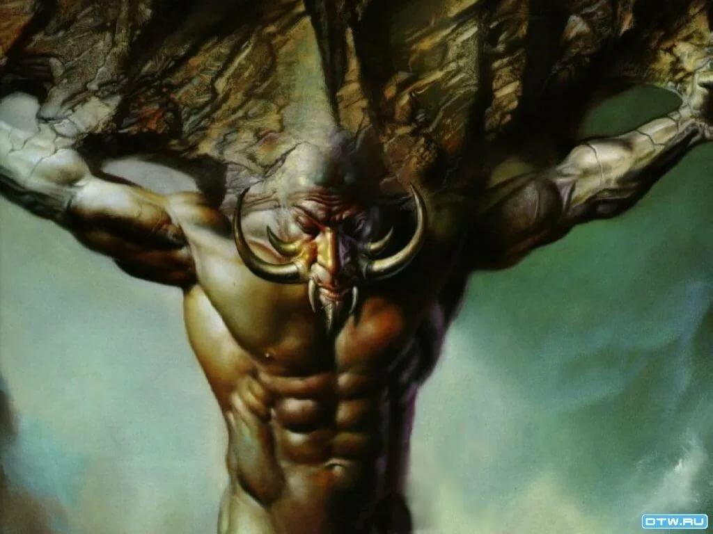 Картинки бога титана