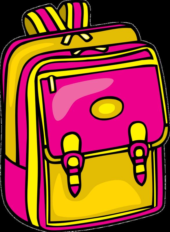 Рисунок портфеля для детей