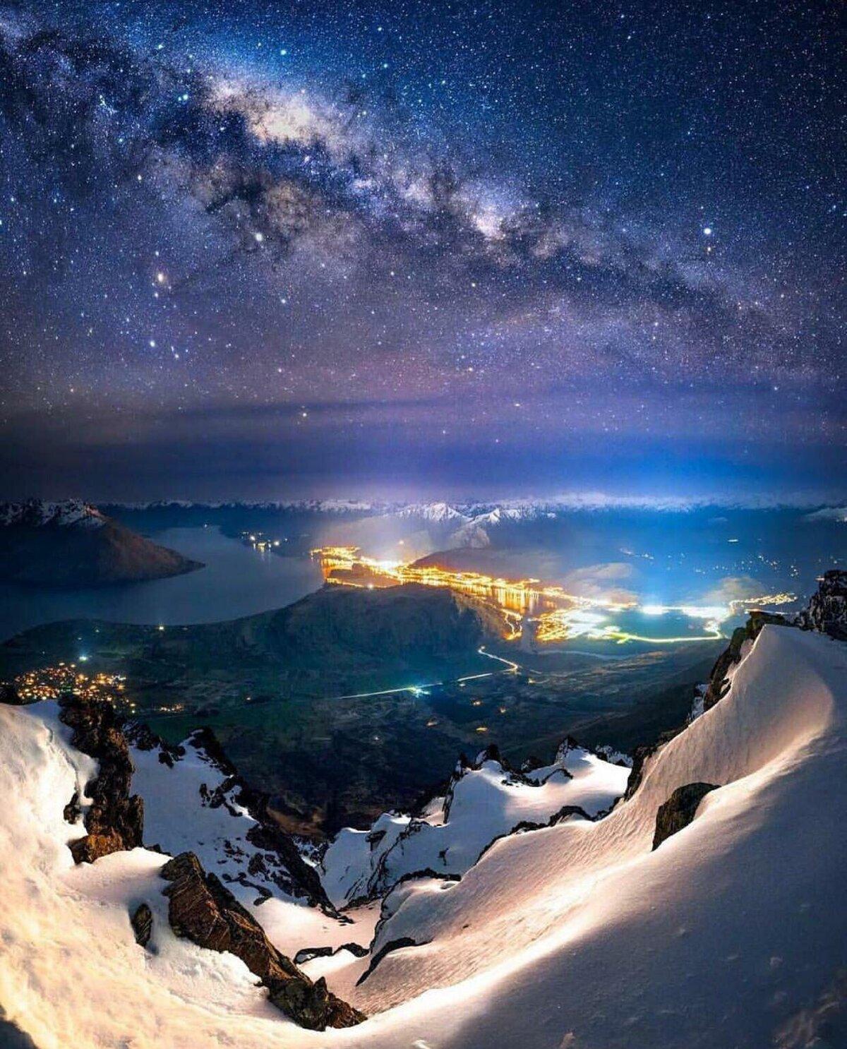 Очень красивые картинки на ночь