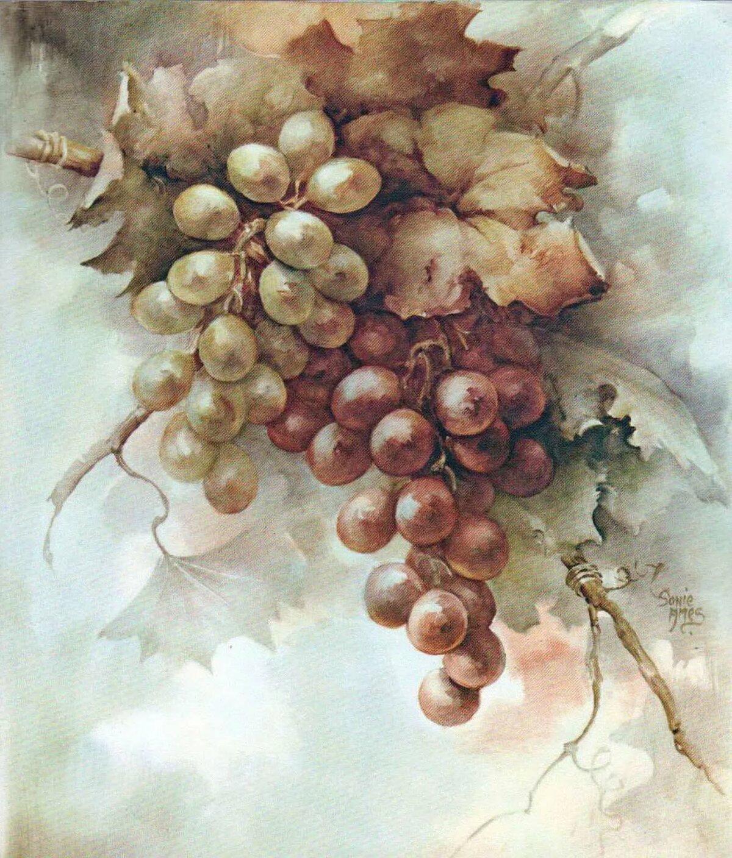 пол декупаж картинки виноград крайне просто готовится
