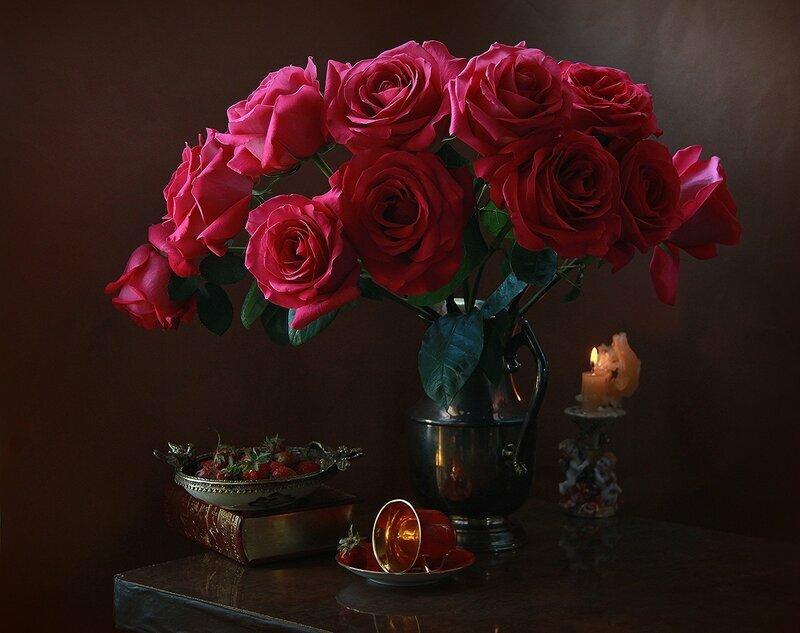 Доброе вечер картинки розы, открытка день семьи