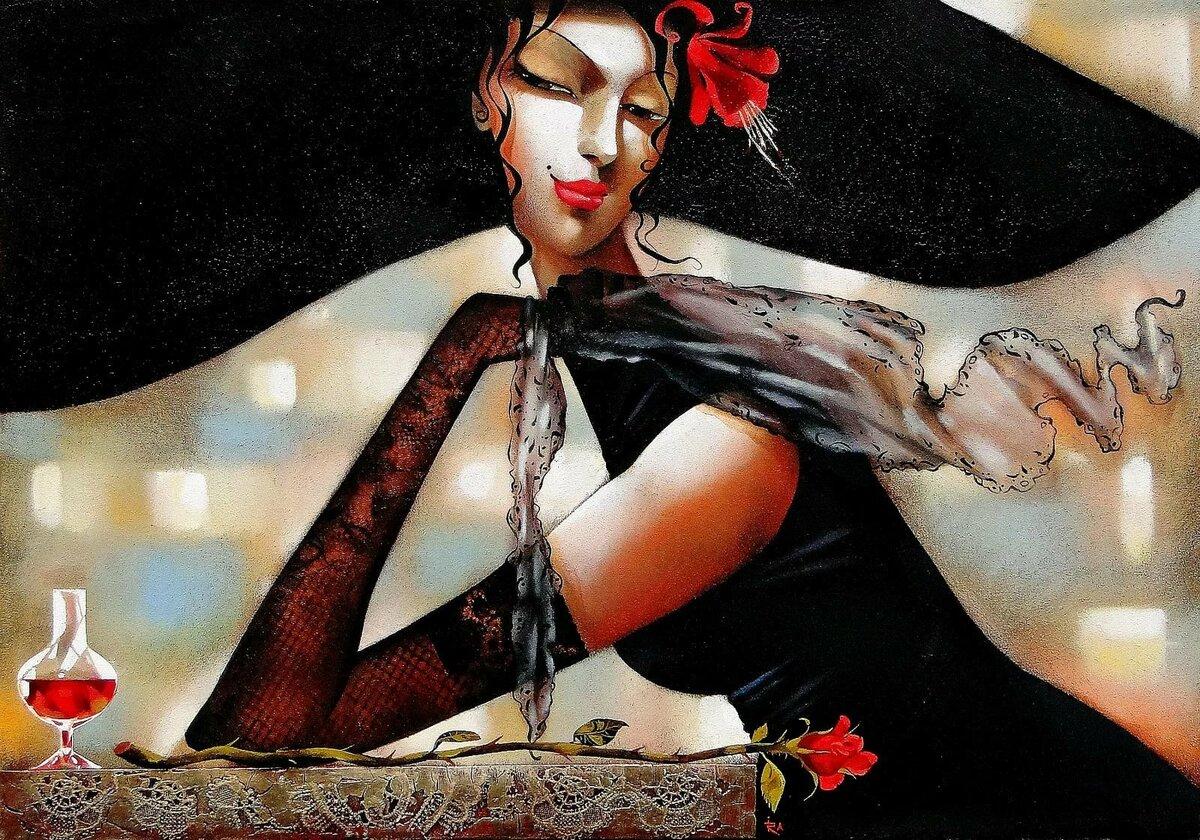 Женщина вамп картинки с надписями со смыслом красивые новые