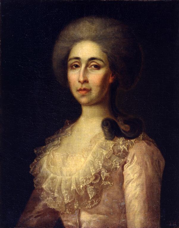 Неизвестный художник. Портрет Анны Васильевны Радищевой. 1780-е годы
