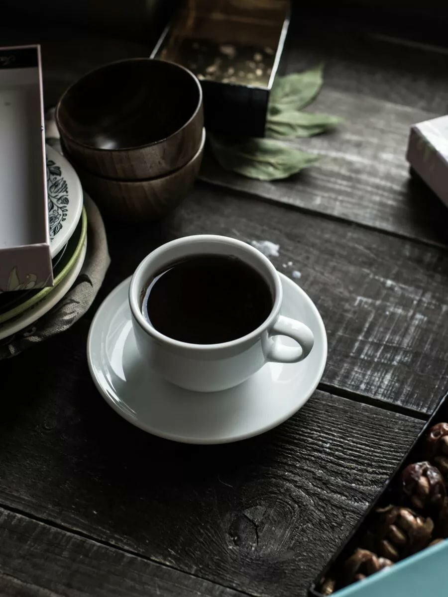 Темный кофе картинки