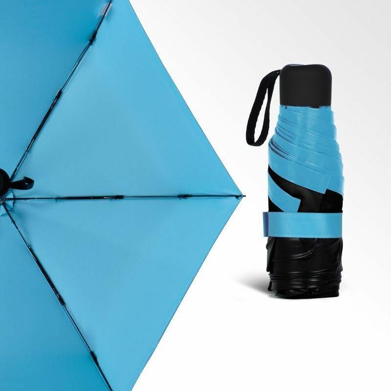 Универсальный карманный зонтик Mini Pocket Umbrella в Николаевске