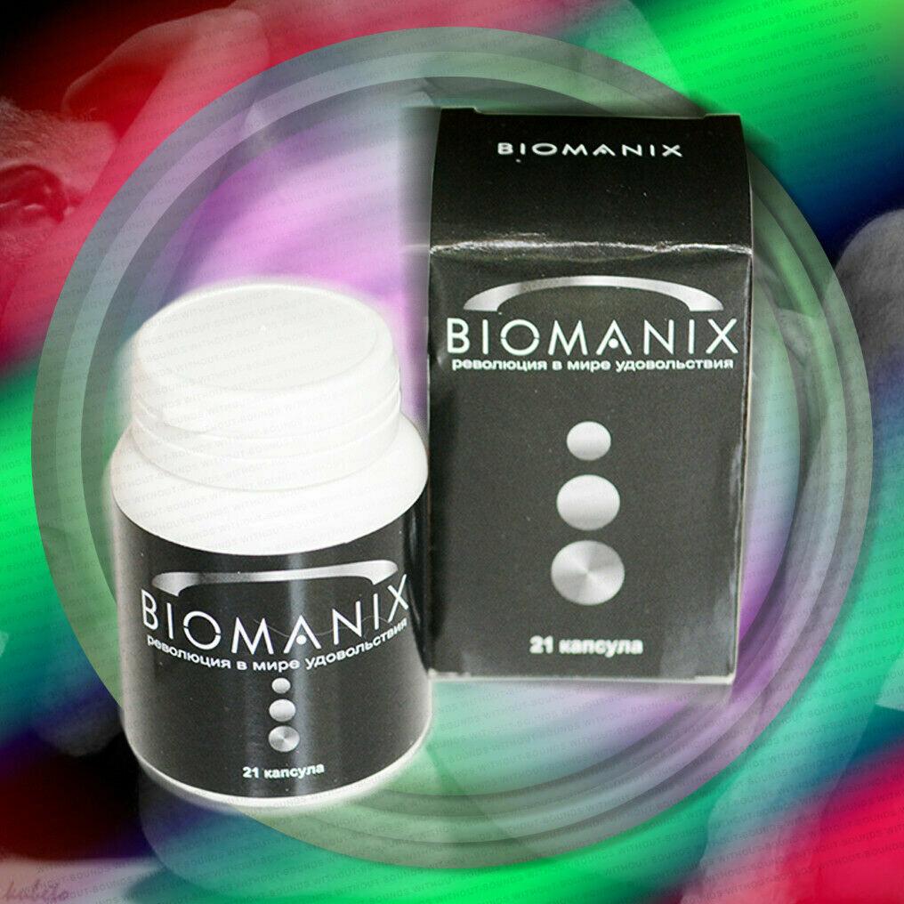 Капсулы BIOMANIX для мужчин в Химках