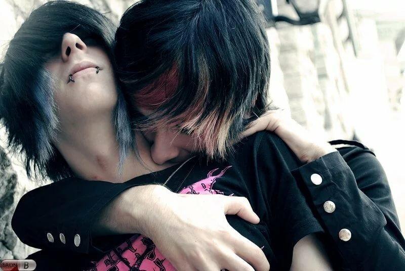 эмо поцелуи в картинках крепкий