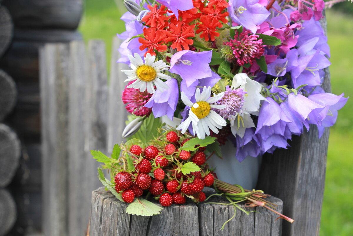 Какие цветы собирают в букеты лесные, свадьбу