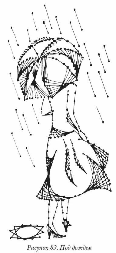 картинки по запросу эскиз рисунок нитками