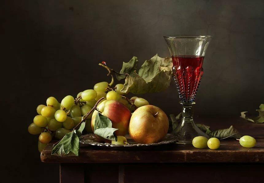 фотонатюрморты с виноградом можете создать