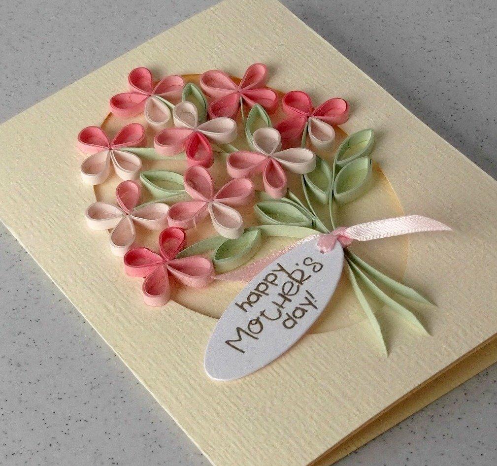 Смотреть открытку маме на день рождения своими руками