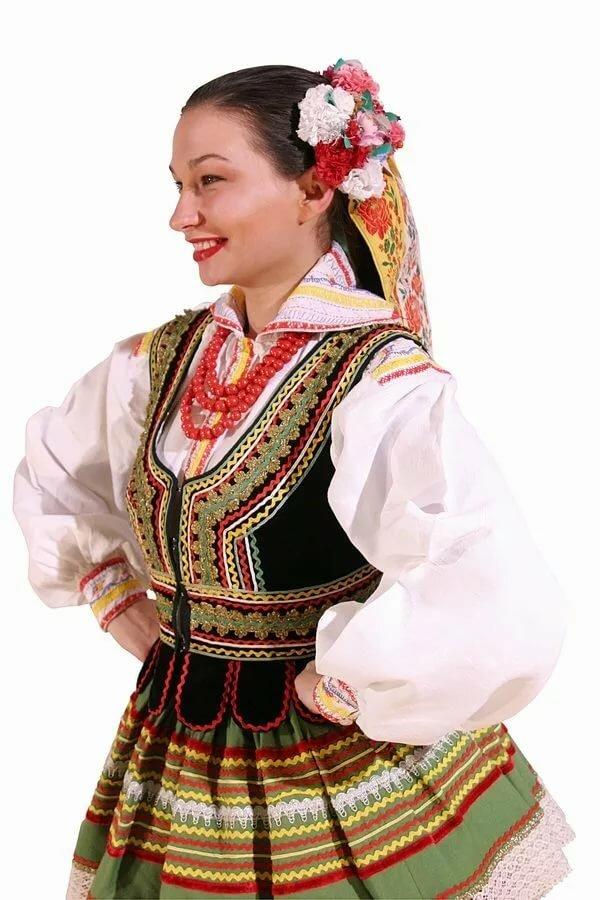 иксом ребенка польский национальный костюм женский фото сейчас быстренько это