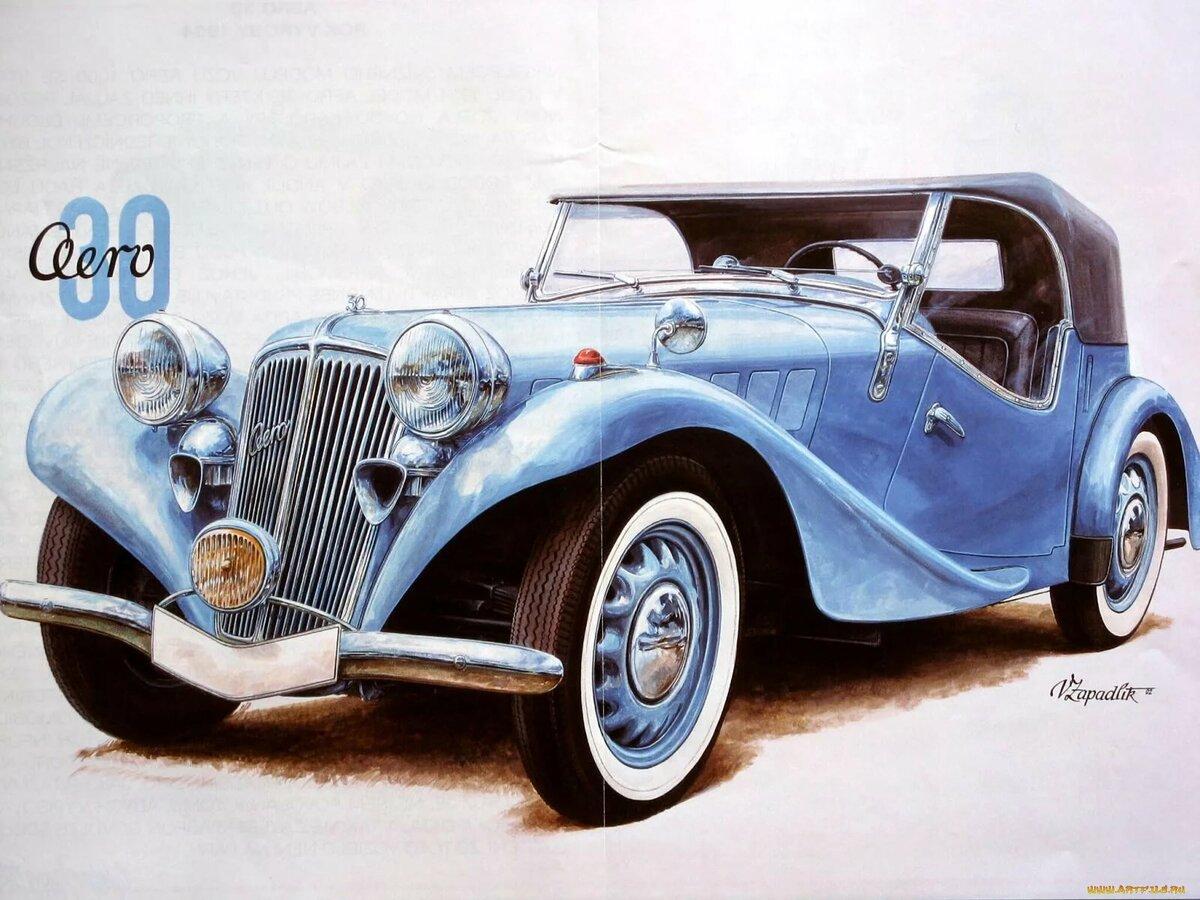картинках картинки рисунки красивых машин для декупажа этой картине