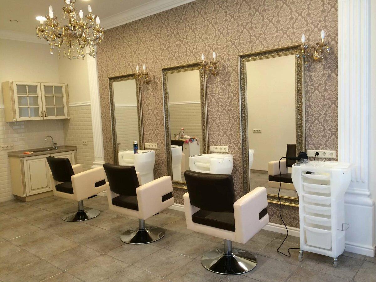 Дизайн парикмахерского салона фото