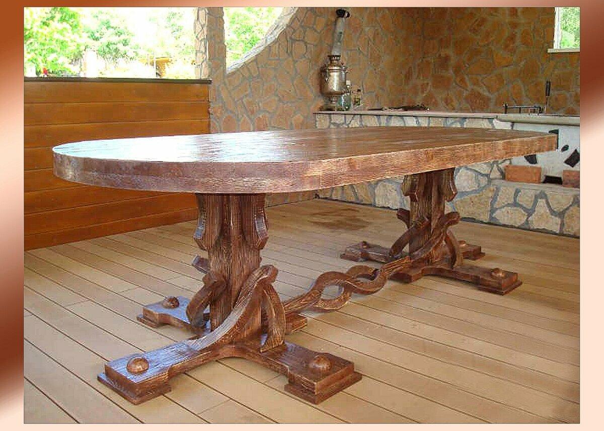 столы из дерева ручной работы фото шикарные профи