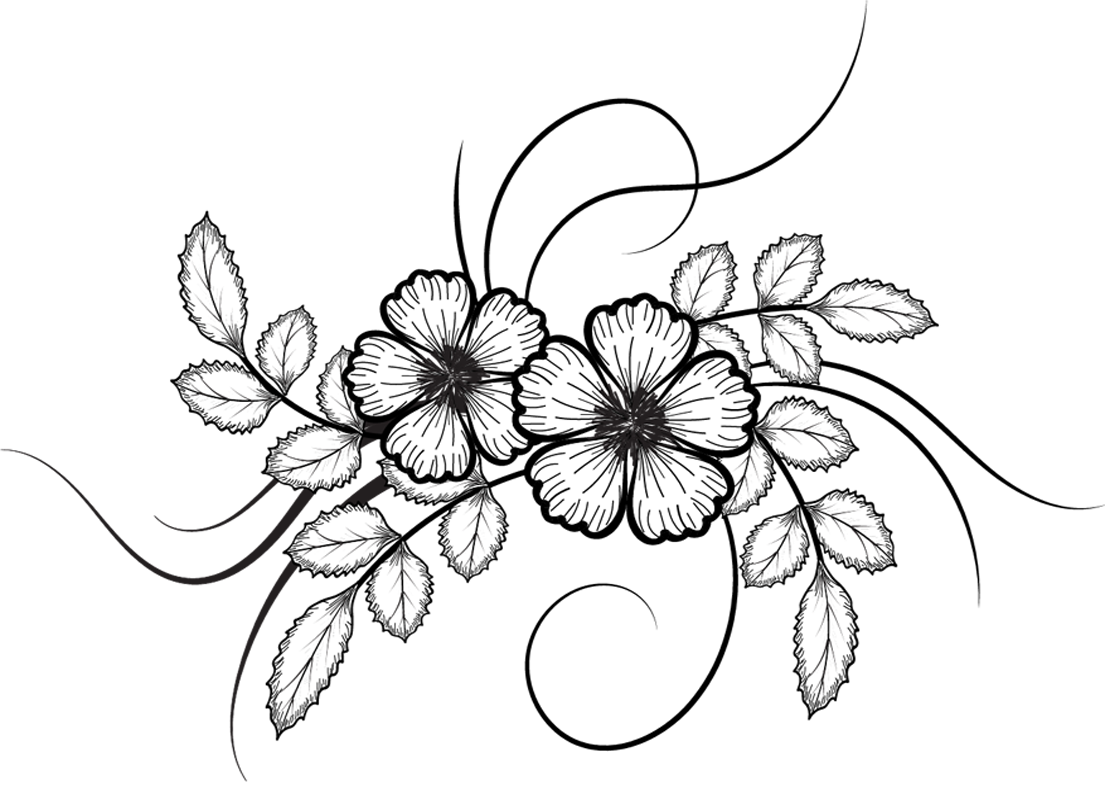 Flower Images Drawing
