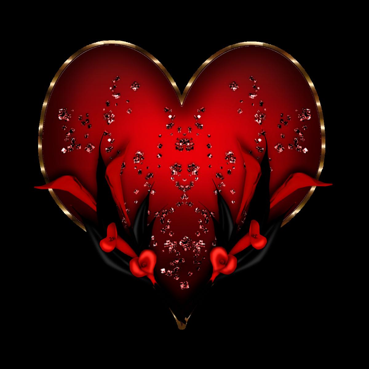 Картинки сердечки с анимации