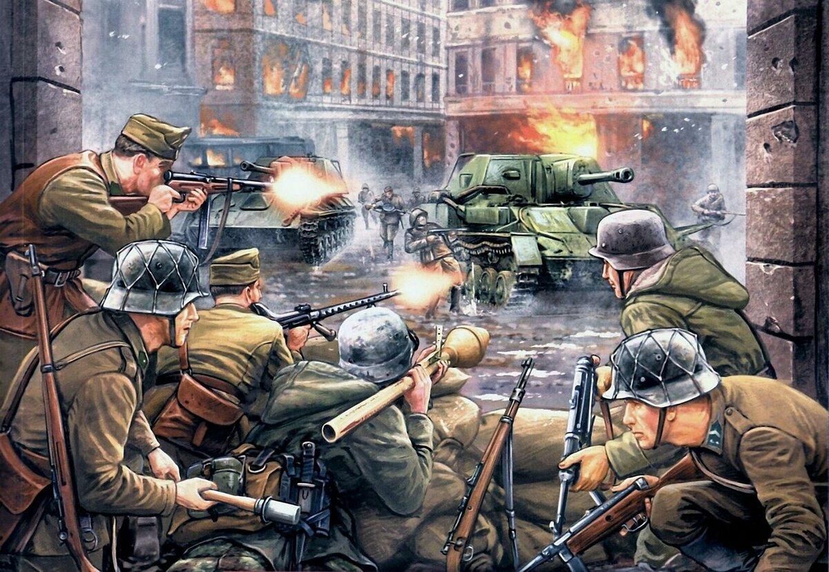 Вторая мировая в картинки