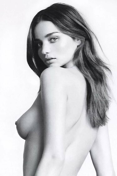 Miranda Kerr Nude Shots Black White Photographed By Laur Xvideos 1